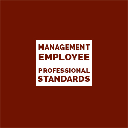 Management Employee Professional Standards